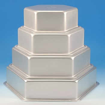 Cake Pan Set Hexagon