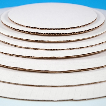 Corrugated Cake Circles