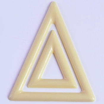 Chocolate Decoration Mold Triangles