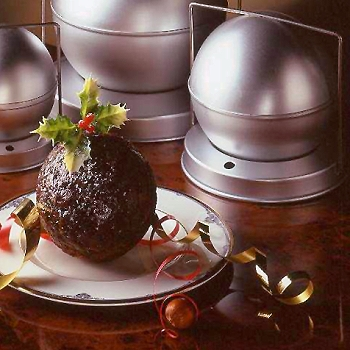 Christmas Pudding Spherical Mold