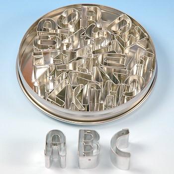 alphabet cutter set small letters