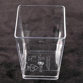 Elegant Dessert Cups Disposable Square