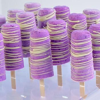 Gelatoflex Ice Cream Pop Molds Heart Shape