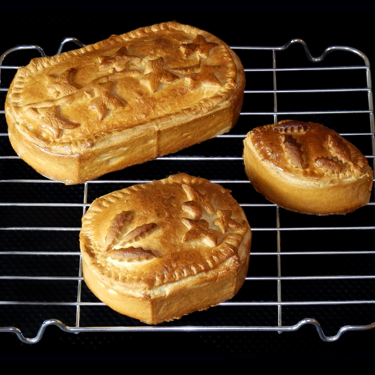 Individual Game Pie Molds