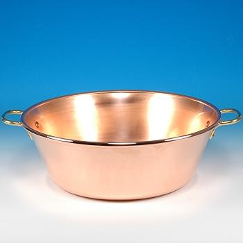Jam Pan Solid Copper