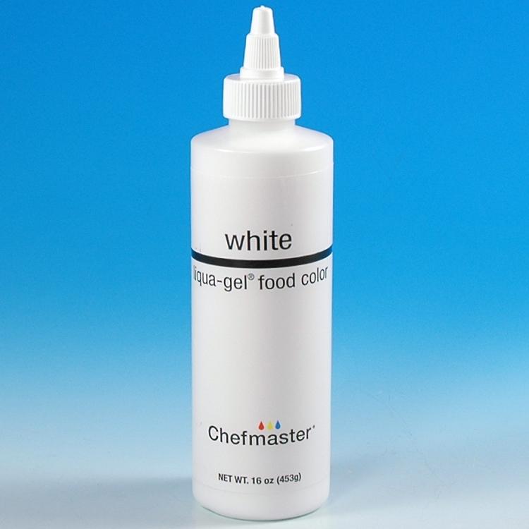 CHEFMASTER LIQUA-GEL COLOR - WHITE