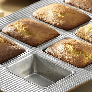 Mini Cornbread Amp Quickbread Loaf Pan