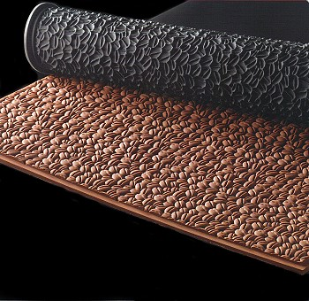 Pastry Relief Mat Coffee Bean