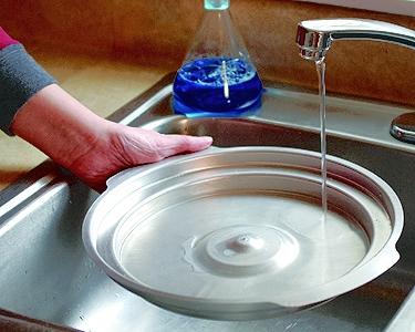 Perfect Pan Built In Waterbath Basin