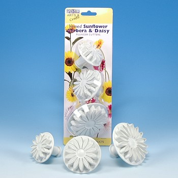 SUNFLOWER & DAISY PLUNGER CUTTER SET