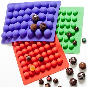 Chocolate Truffle Molds Freshware Cb 650 Silicone 6