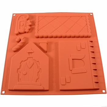 Silicone Mold Gingerbread House