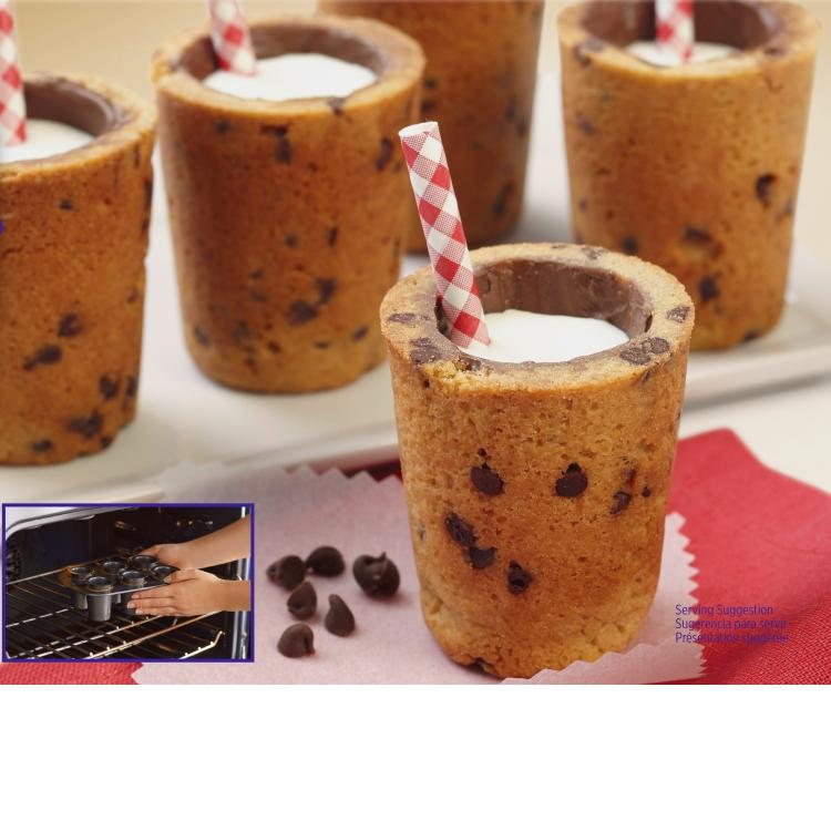 Sweet Shooters Cookie Shot Glass Pan Set