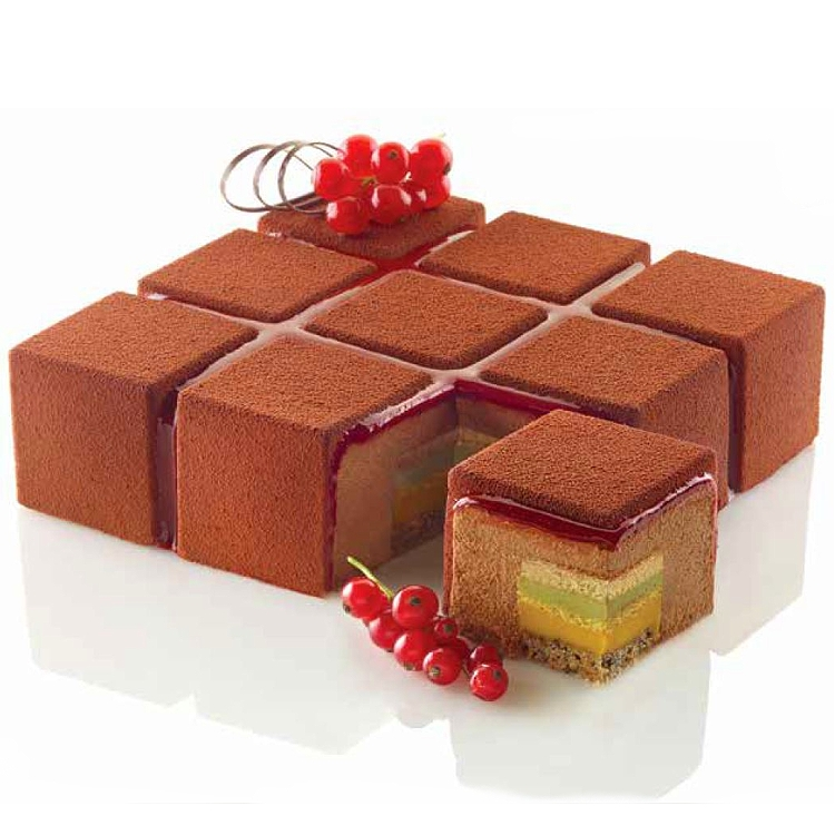 Tortaflex Cubik Cake Mold