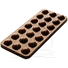 CHOCOLATE MOLD - BUBBLES TABLET