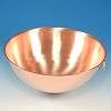 EGG WHITE BOWL - SOLID COPPER