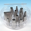 12-PIECE PASTRY TIP SET