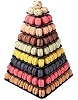 PYRAMID OF MACARONS - SQUARE