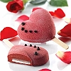 STECCOFLEX ICE CREAM BAR MOLDS - HEART