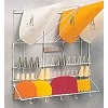 BAKERY WALL RACK - WHITE COATING