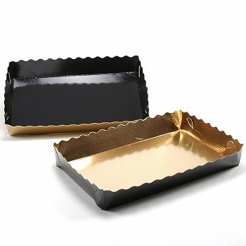 BAKERY TOGO TRAY - DOUBLE-SIDED CARDBOARD