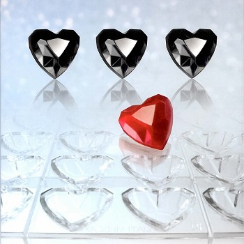 CHOCOLATE MOLD - HEART DIAMOND