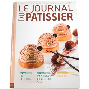LE JOURNAL DU PATISSIER - SEPTEMBER 2017 #432