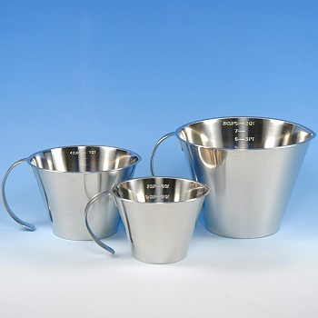 Measuring Cup Set Stainless Steel