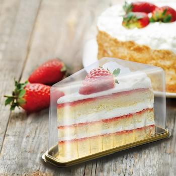 MEDORO TRIANGLE CAKE & PIE SLICE TRAYS - DISPOSABLE
