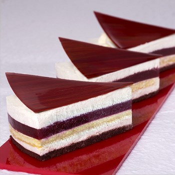 RAPID PRODUCTION PORTION MOLDS - CAKE SLICE