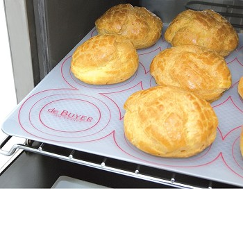 SILICONE BAKING MAT WITH DEPOSIT GRID