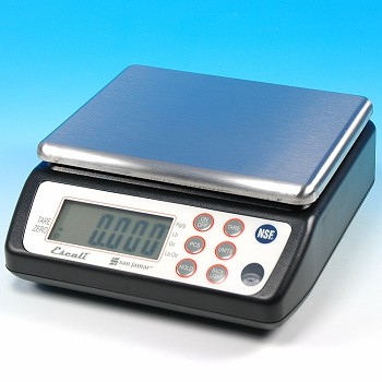 "SQUARE PROFESSIONAL ""NSF"" DIGITAL SCALE 33 LBS."