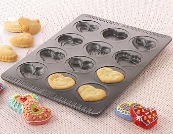 Valentine Hearts Cookie Pan