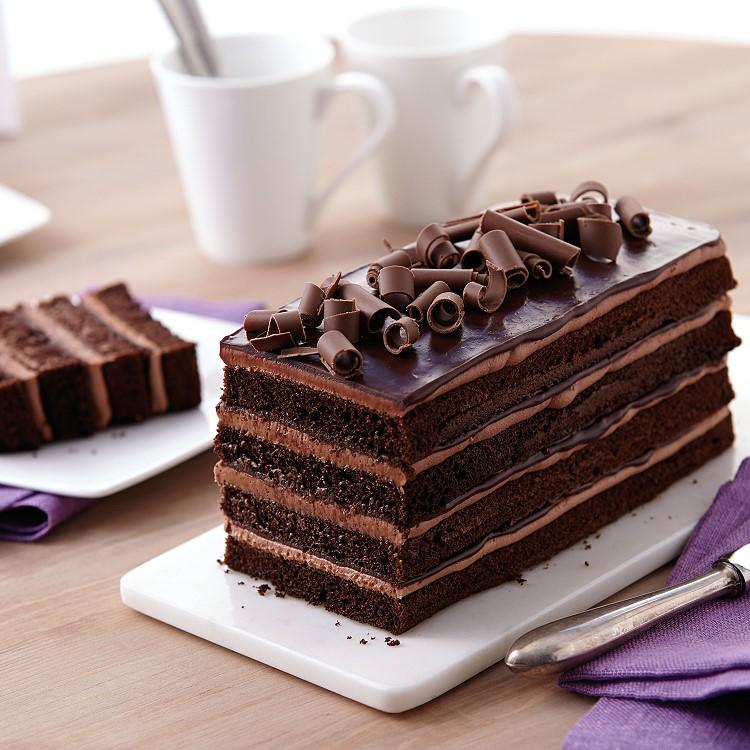 3 Layer Cake Ingredients: WILTON EASY LAYERS LOAF CAKE PAN SET