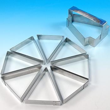 Mozaik Triangle Tart Ring Set