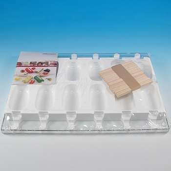 Steccoflex Ice Cream Bar Molds