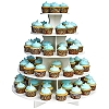 5-TIER CUPCAKE AND TREAT TOWER - ROUND