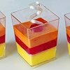 ELEGANT DESSERT CUPS DISPOSABLE - SQUARE 60ML