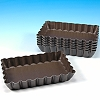 FLUTED RECTANGULAR TART PAN - SINGLE SERVING