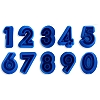 GUM PASTE NUMBER SET