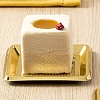MEDORO MINI SQUARE PASTRY TRAYS - DISPOSABLE
