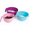 NESTING MIXING BOWL SET - PLASTIC