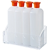 SIMPLE SYRUP SOAKING BOTTLE SET WITH HOLDER