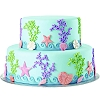 FONDANT & GUM PASTE THEME MOLDS - SEA LIFE