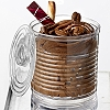 TIN CAN DESSERT CONTAINERS WITH LID - DISPOSABLE