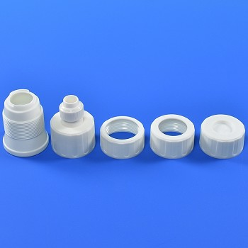 4 SIZE COUPLER & CAP FOR PIPING TIPS