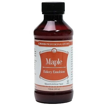 BAKERY FLAVORING EMULSION - MAPLE