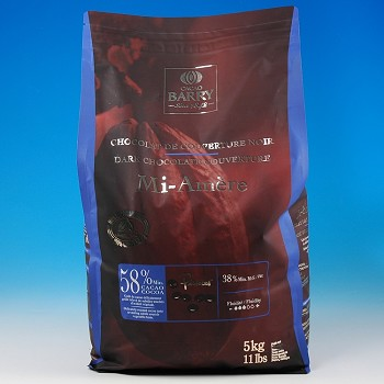 CACAO-BARRY DARK SEMISWEET COUVERTURE