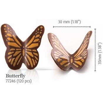 CHOCOLATE BUTTERFLY