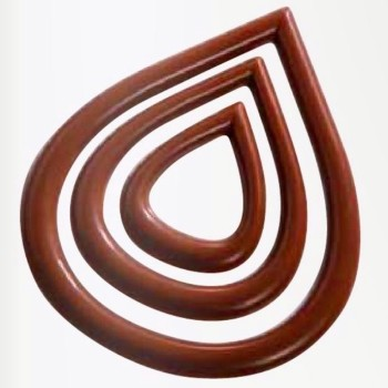 CHOCOLATE DECORATION MOLD - DROPS
